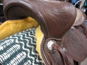 Saddle Re-sheepskiningand refurbishing