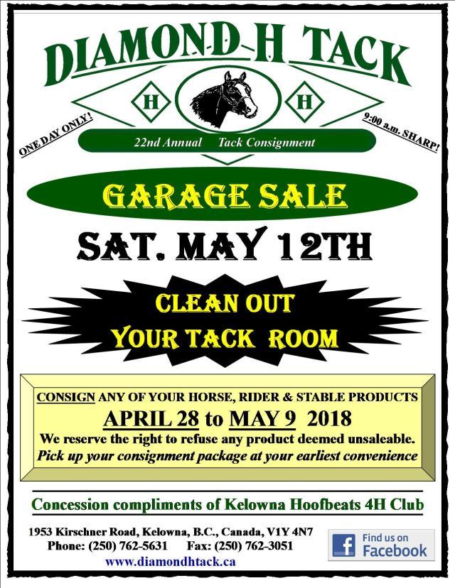 18 Garage Sale Poster Mail