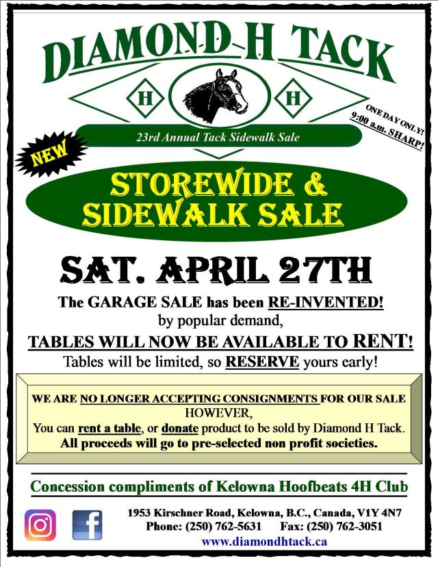 19 Garage Sidewalk Sale Poster new